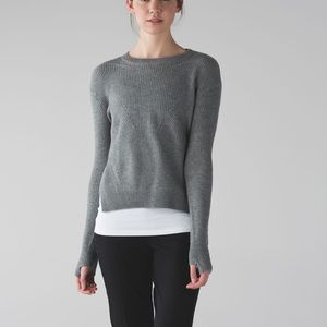 Gently used Lululemon Seva sweater